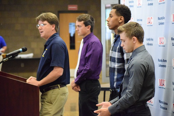 The Macomb Area Conference held its media day Thursday at Chippewa Valley  High School. Among the Oakland County schools in attendance were Clawson,  ...